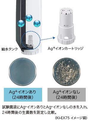 Hình: Hộp mực ion Ag +
