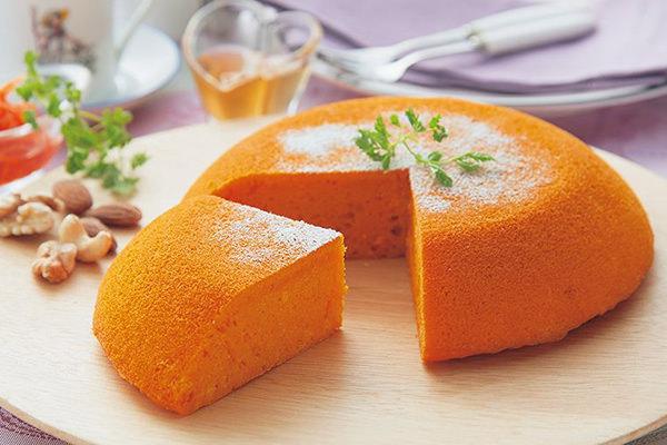 野菜ジュースのケーキ