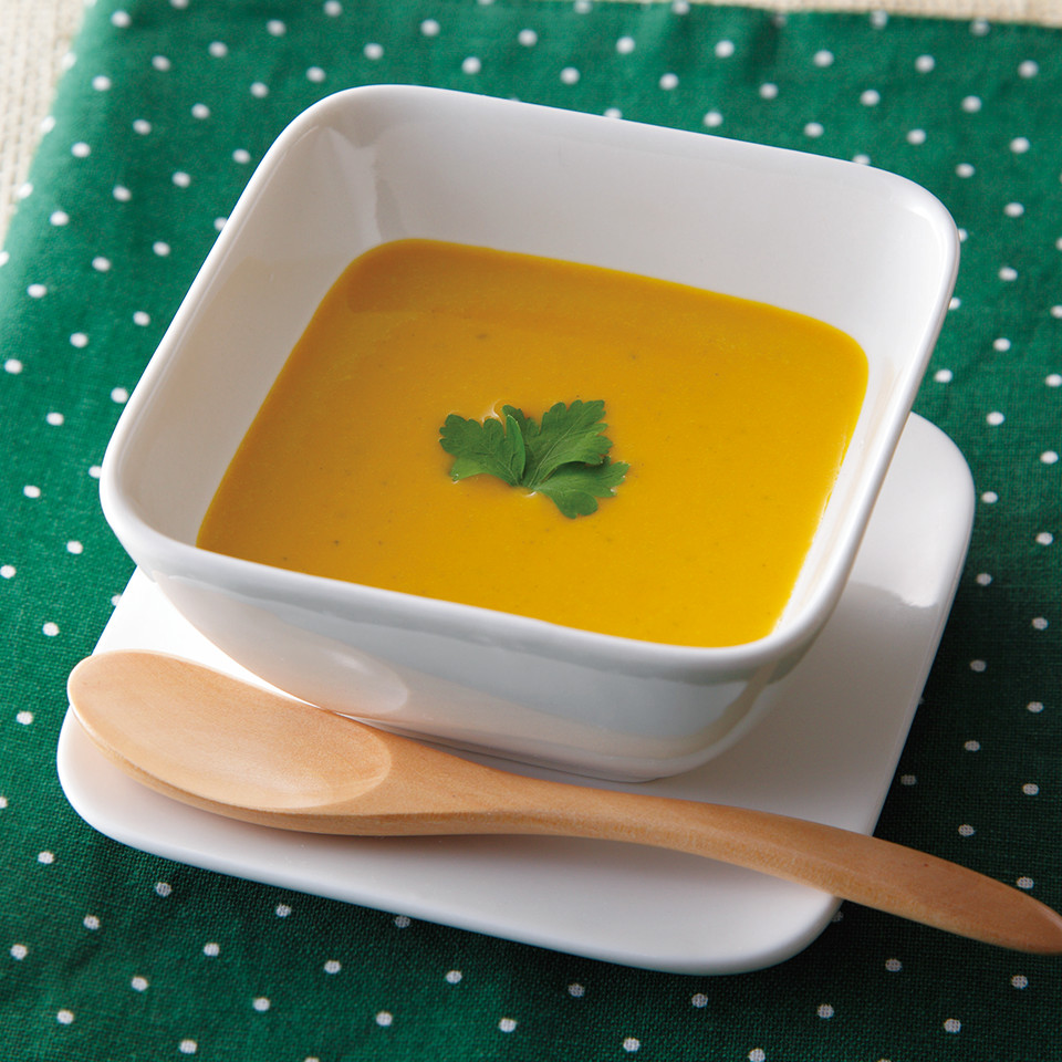 かぼちゃ スープ 牛乳 なし
