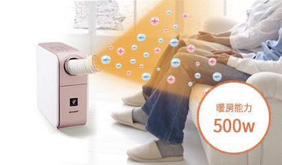 暖房能力500W