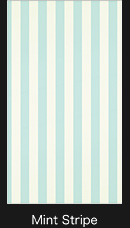 Mint Stripe